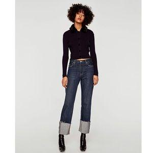 Zara // The Vintage Straight Jeans🌛
